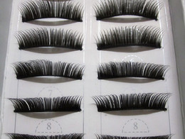 Wholesale Handmade false eyelashes heavy makeup feathers thick section