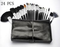 Wood makeup brush set - Makeup Professional Makeup Brush set Kit set FREE GIFT