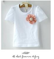 Sample baby girl kids short sleeve shirt T- shirt top tops pa...