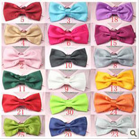 Men Silk & Polyester Red Tie Ms. men Korean England women bow dress suit bow tie bow-tie bow tie of marriage