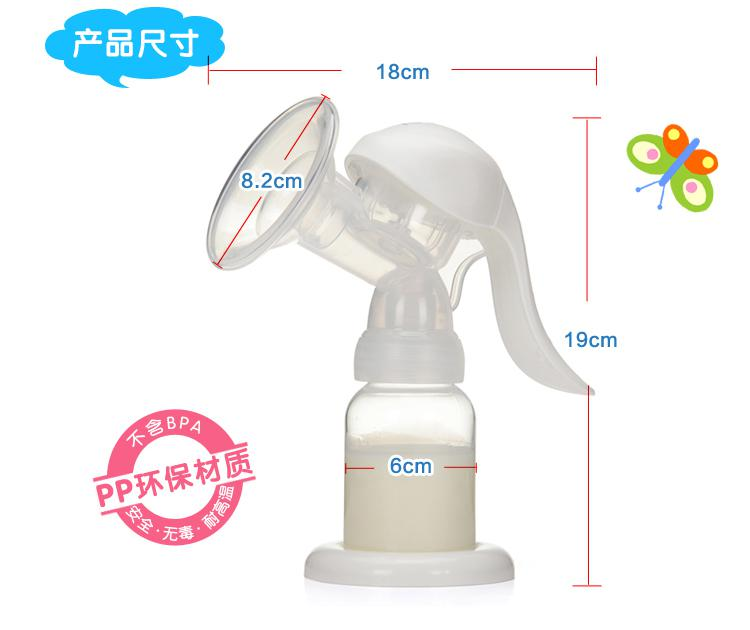 manual extraction of breast milk