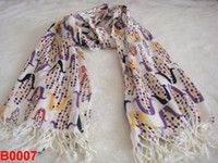 Wholesale LC Scarves Imitation Cashmere Lady Korean Style Low Price B006