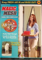 Wholesale Magic Mesh Bugs out Magnetic Hands free Screen door Keep Fresh Air In amp Bugs Out