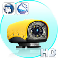 Wholesale Mini HD Sports Camera p Meter Waterproof White IR LEDs Motion Detection