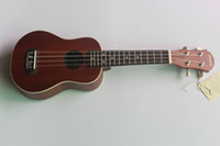 Wholesale clearly sound sapeli wood KANANI white binding Ukulele