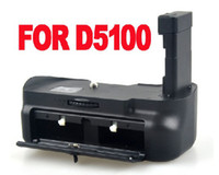 Wholesale Pro Battery Grip for Nikon D5100 EN EL14 DSLR Camera battery Multi Power DSLR Vertical Battery Grip
