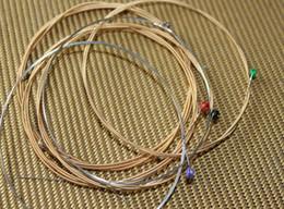 Wholesale Guitar Strings SETS Silk Steel Acoustic Guitar String Beautifully packaged strings