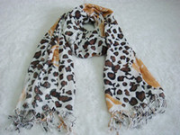 Wholesale LC Scarves Imitation Cashmere Lady Leopard
