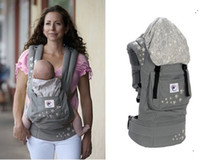 Wholesale Retail Baby Carrier Baby Sling Canvas Version Grey Star Grey Top Quality