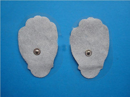 Wholesale 400ps hand shaped woven tens electrode pad for Heatnclick Slimming Massage therapy machine pads