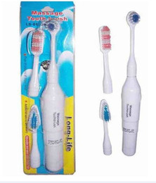 Wholesale New Arrive Electric Massage Toothbrush Massager Brush Heads Whitening Cleaner Teeth polish