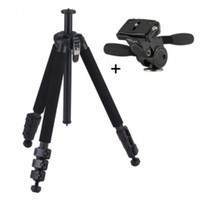 Wholesale VELBON GEO E540L Leg Sections Carbon Fiber Tripod with PHD Q way Photo Head Tripod Kit