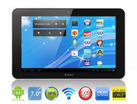 Wholesale Ainol Novo Aurora II IPS Android Tablet PC AMLogic GHz Dual Core GB DDR3 GB White Color