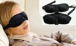 Wholesale Korean Portable D sleep Mask Shading Sleeping Eye Mask Relaxation Blindfold Sleep Aid Travel Rest eyemask black fesive Christmas gift