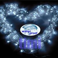 Wholesale Christmas Go Vegan x M Waterproof LED White String Lights Xmas Fairy Lights V AU Plug