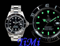 Wholesale 2011 Men Automatic Mechanical Stainless Steel Marine watch Revenge