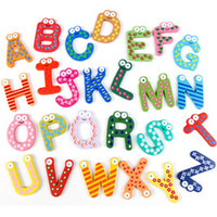 Wholesale Lovely fridge magnet children early education cards magnet sticker baby gift alphabet fridges