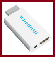 Wholesale Wii to HDMI HD p mm Audio Converter Output Upscaling Adapter