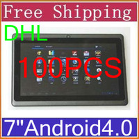 Wholesale DHL A13 inch Allwinner GHz M GB Capacitive Android Tablet PC WiFi Camera P1