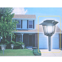 Wholesale SOLAR MOSQUITO INSECT BUG FLY PEST CONTROL KILLER LIGHT USE ANYWHERE NO POWER NEEDED