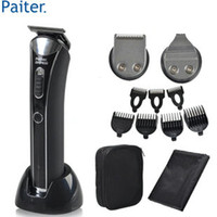 Wholesale Paiter G Baby Adult Hair Clippers Rechargeable Personal Care Barber Scissors G