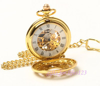 amp mechanical watches - Vegan Elegant Gold Tone Argent Blossom Pocket Watch amp amp Chain freeship
