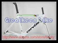 Wholesale Cervelo S3 aero white champions Full Carbon Road bike frames Bicycle Frames