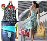 Wholesale Portable environmental protection folding shopping bag