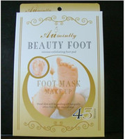 Wholesale Exfoliating Foot Mask foot care mask foot care peeling beauty pair