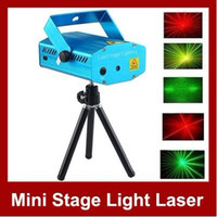 Wholesale 150mW Mini Red Green Moving Party DJ Laser Stage Light Lighting Projector