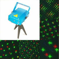 Wholesale Voice Activated Mini Green amp Red Laser DJ Party Stage Lighting Light