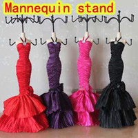 Wholesale Mannequin Jewelry Holder Display Stand Racks quot Polyresin dress model Doll Organizer Lady good Gift