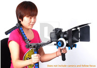 Wholesale DSLR Camera Rig Shoulder Mount Matte Box Kit for Follow Focus FF Canon D D D Mark II pk008w