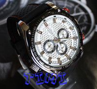 Wholesale 2012 new UK Big Mens Size Luxury Self Winding Mechanical Skeleton Rubber Sport Watches freeship