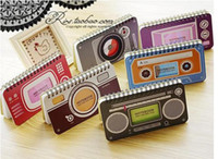 Wholesale Notebook TV Camera Radio Cassette shaped Coil Note Notebook Diary Book