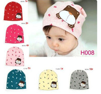 Spring / Autumn beanie babies headwear - Baby girls beanie Baby hats Boys Beanies Top baby Infant hat Cartoon hat Caps Headwear Children Head