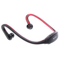 Wholesale Wrap Around Wireless Headphones Headset Sport MP3 Player Built in GB music player wireless earphone