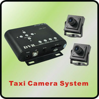 Wholesale car dvr CCTV Taxi Camera DVR System with DVR and Car Cameras Motion Detection D1
