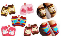 Boy baby knee protection - Infant Baby Learning to climb protection Knee Socks Lovely cartoon Baby Sox Baby s kneelet RT384