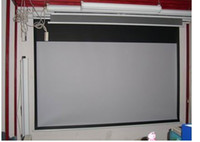 Wholesale 100 inch Electric glass bead projector screen remote control H686
