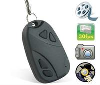 Wholesale 808 Hidden Car KeyChain Camera Mini Camera Car DVR Key Chain Vedio Camera pixels