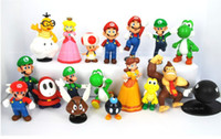 Wholesale Super Mario Bros yoshi Figure dinosaurand roid watchtoys Figure play style