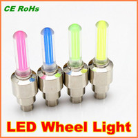 Wholesale Genuine high quality LED Wheel Light Metal housing colors US UK Valve available For car LED Tire w