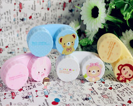 Wholesale Bear Lens Case Lenses Box Color Cute cartoon lens case Cartoon Glasses box