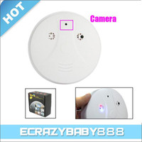 Wholesale 8GB Spy Smoke Detector DVR mp Hidden Camera fps AVI Motion Detector with Remote Control