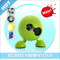 Wholesale Green Mini Cute Motion Detect Robot Time Lapse Security Spy Camera DVR CMOS Sensor with Night Vision