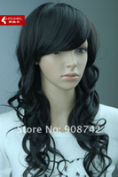 Wholesale FS804 Women Synthetic Wigs Long Black Best Lace Hair Fashion Wig Manufacturer Direct