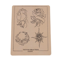 Wholesale Tattoo Practice Skin Rose Pattern Incarnadine New Ship From USA H01068