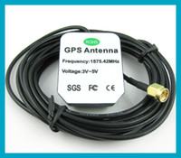 Wholesale 10pcs GPS Navigation Antenna meter Cable SMA Male connector Straight