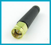 Wholesale MHZ rubber antenna dbi gains with SMA male straight connector